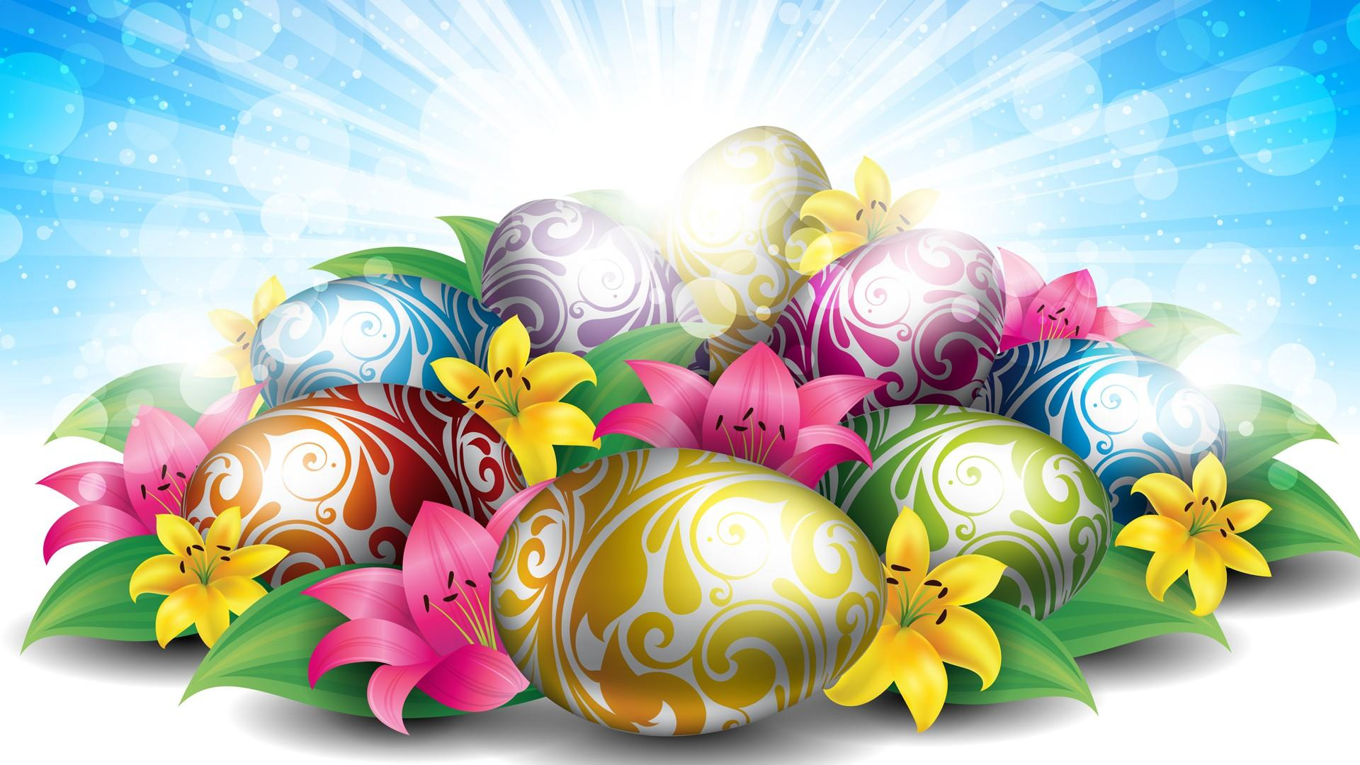 lilies_eggs_for_easter